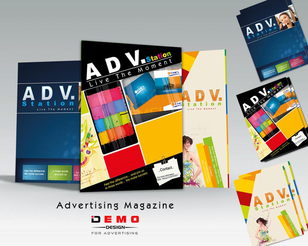 Advertising Magazine by Demo-Design on DeviantArt