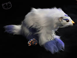 Commission- realistic Mienshao by LisaToms