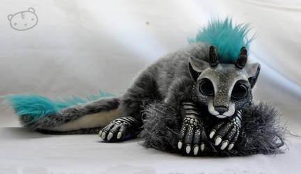 Chibi dragon spirit - commission by LisaToms