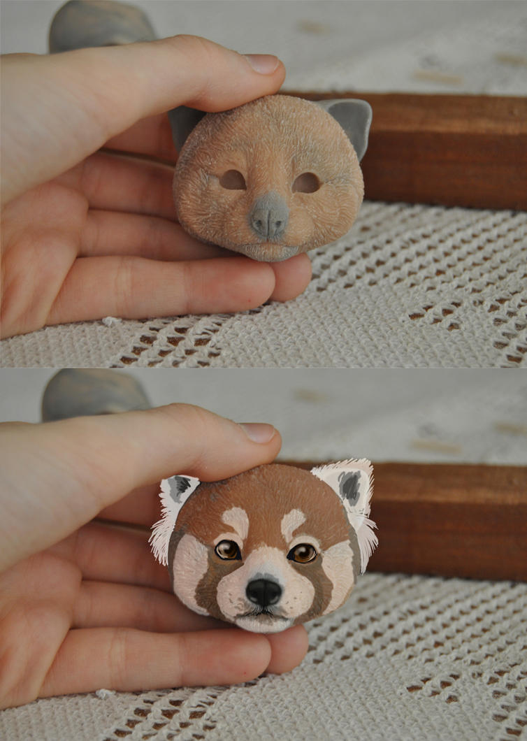 Red Panda WIP by LisaToms