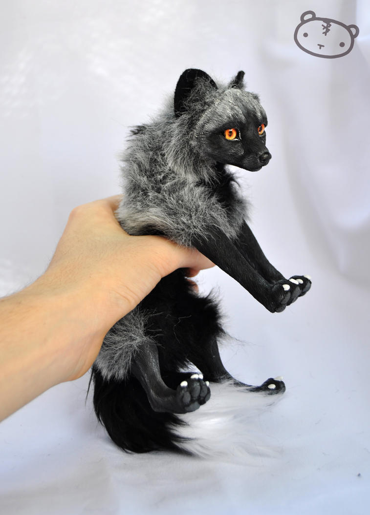 I caught a silver fox! by LisaToms