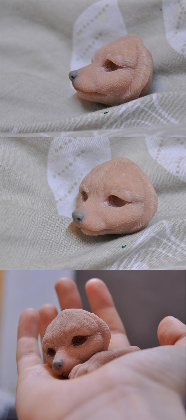 WIP fennec fox by LisaToms