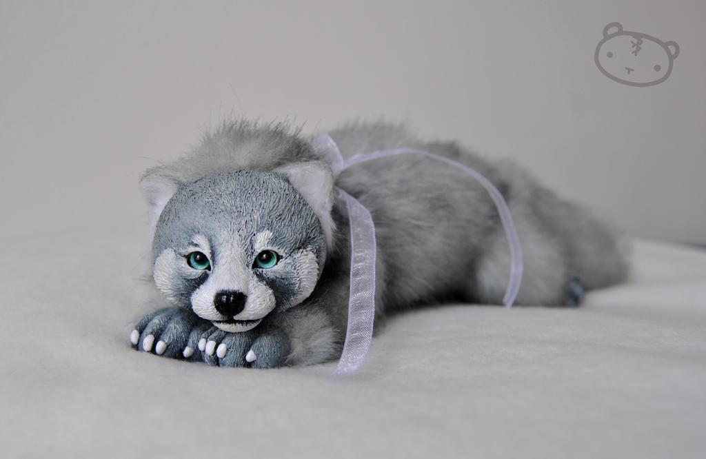 Grey 'red panda' by LisaToms