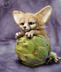 Fennec fox - art doll
