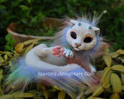 rainbow baby dragon spirit by LisaToms