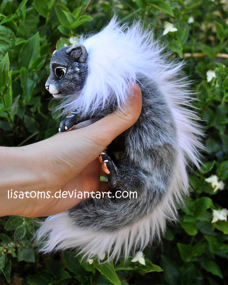 Frosted Baby Dragon Spirit- Side Face By LisaToms On