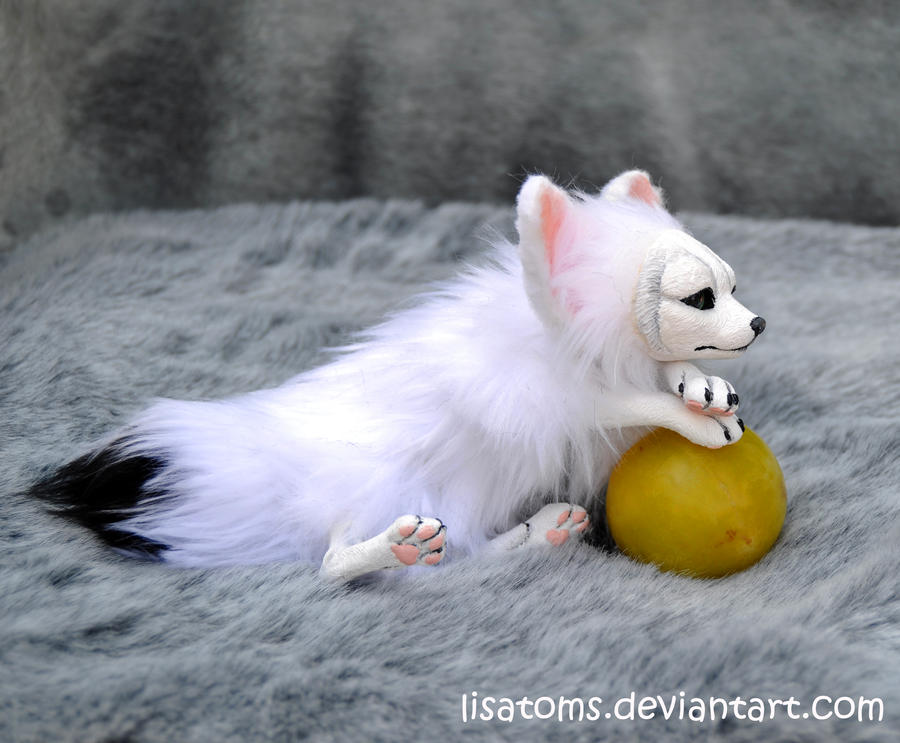White fennec fox by LisaToms