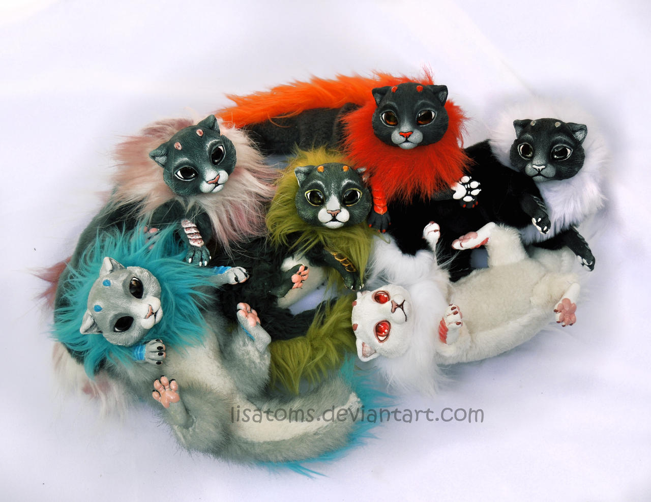 Litter of baby dragon spirits- BIG SALE! by LisaToms