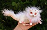Albino baby dragon spirit- SOLD