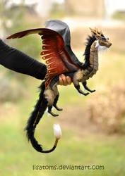 Kozmotis the Imperial Dragon by LisaToms