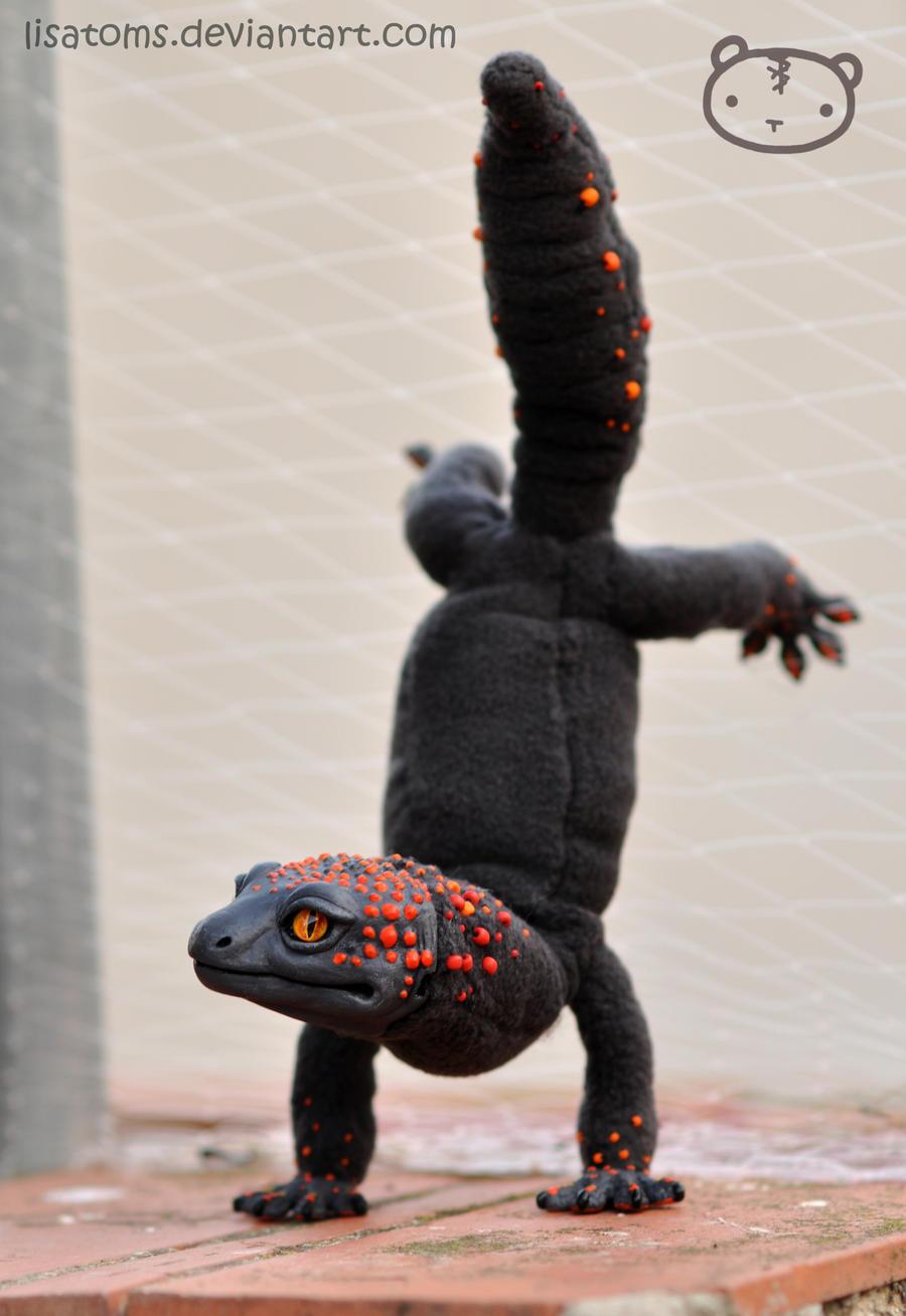 Fire Salamander by LisaToms