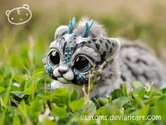 New chibi dragon spirit! sneak peek by LisaToms
