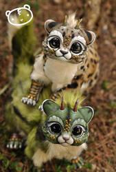 More Chibi Dragon Spirits! by LisaToms