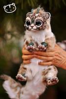 Lynx Chibi Dragon Spirit by LisaToms