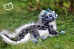 Ice Ocelot-Chibi Dragon Spirit