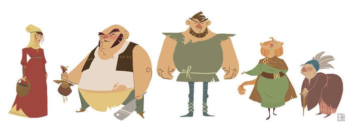 Incidentals Characters- Peasants
