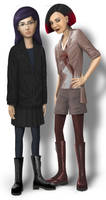 Daria and Jane makeover by S-C
