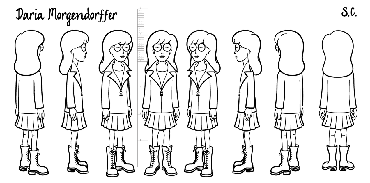 138 best animation turnarounds images on pinterest character