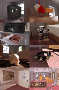 Daria's Room - Detailed Items