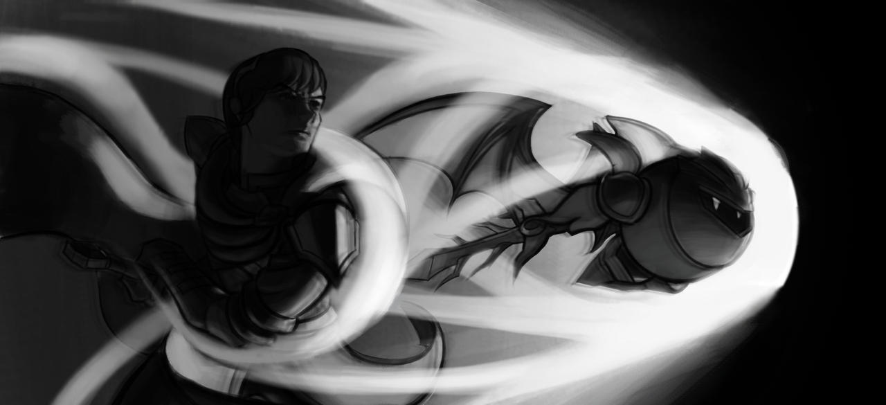 Marth and Metaknight by Stabby2486