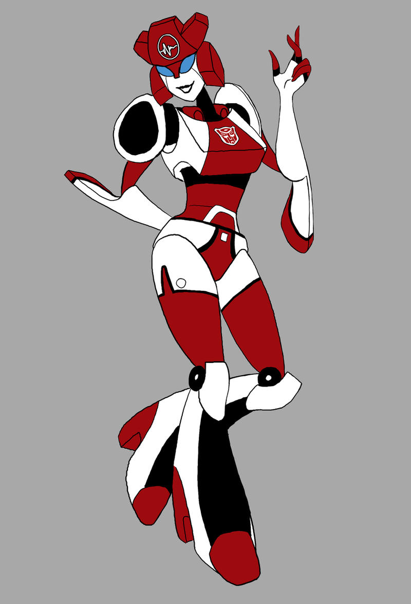 Fembot Nurse Red Alert by MelaniePerry