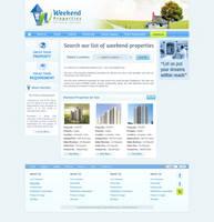 Weekend Property Real Estate Site by smartrocker