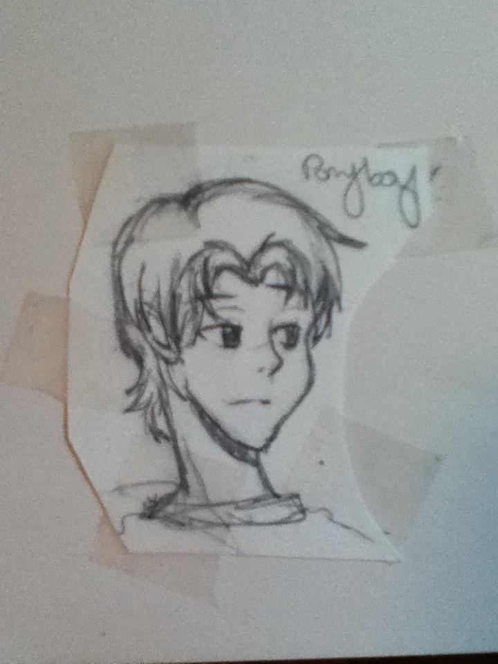 ponyboy sketch by johnnycadelover111 on deviantart