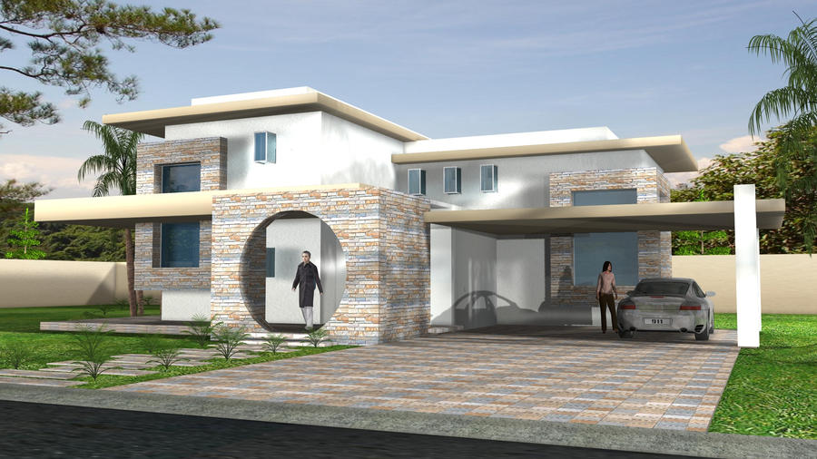 Minimalist House 1 by TsukiLion
