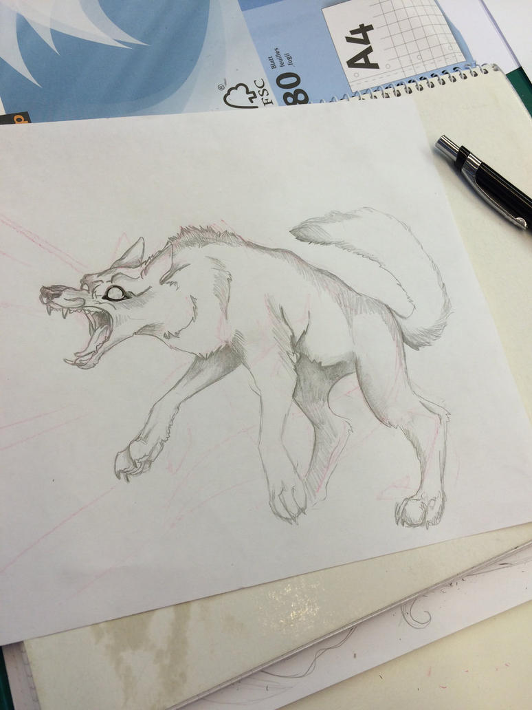 mad wolf by Laura4Christ