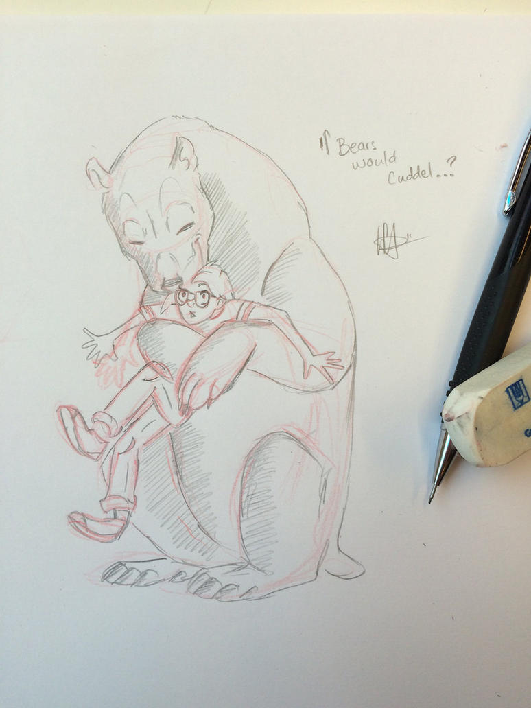 If Bears would cuddel by Laura4Christ