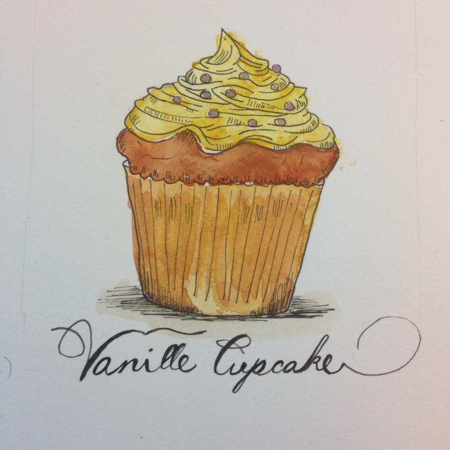 Vanille Cupcake (cupcakes part1.) by Laura4Christ