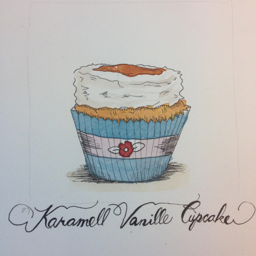 Caramelle Vanille Cupcake (cupcakes part2.) by Laura4Christ