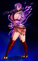 Commission - Ninja Babe Tsu by mesiasart