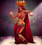 Belly Dancer by mesiasart