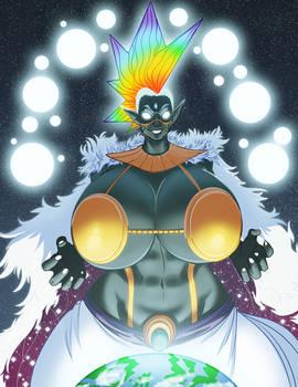 Tyr Ahn Ical White Diamond Queen