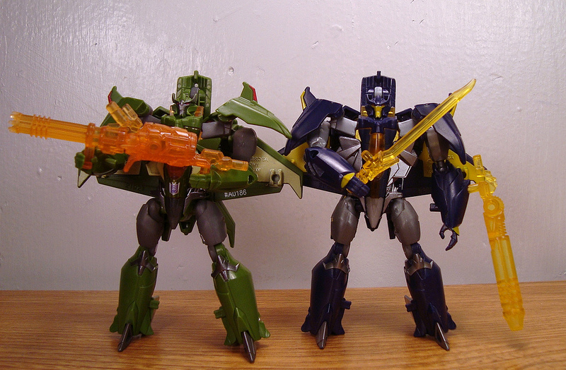 TF Prime Cyberverse Skyquake and Dreadwing by ...