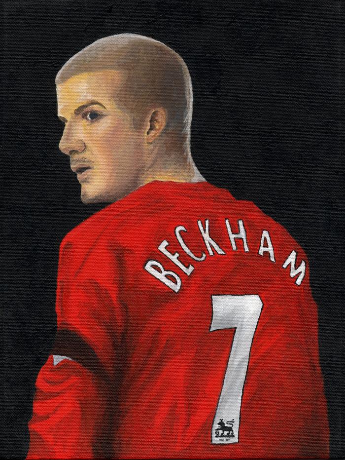 David Beckham - Manchester by RayPelesko