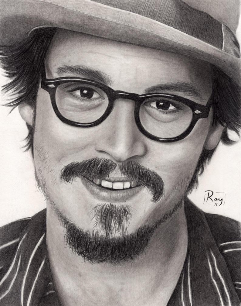 Johnny Depp by RayPelesko