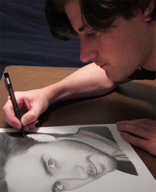 Drawing Jared Leto by RayPelesko