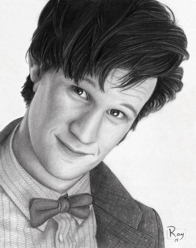 Matt Smith as the Doctor by RayPelesko