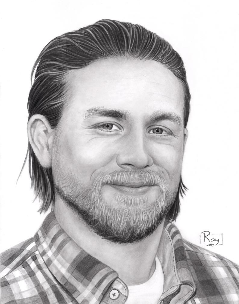 Charlie Hunnam by RayPelesko