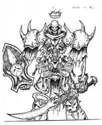 Skeleton King by Inuji