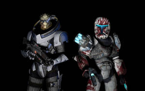 Garrus and Sev - Sharpshooters by Archangel470