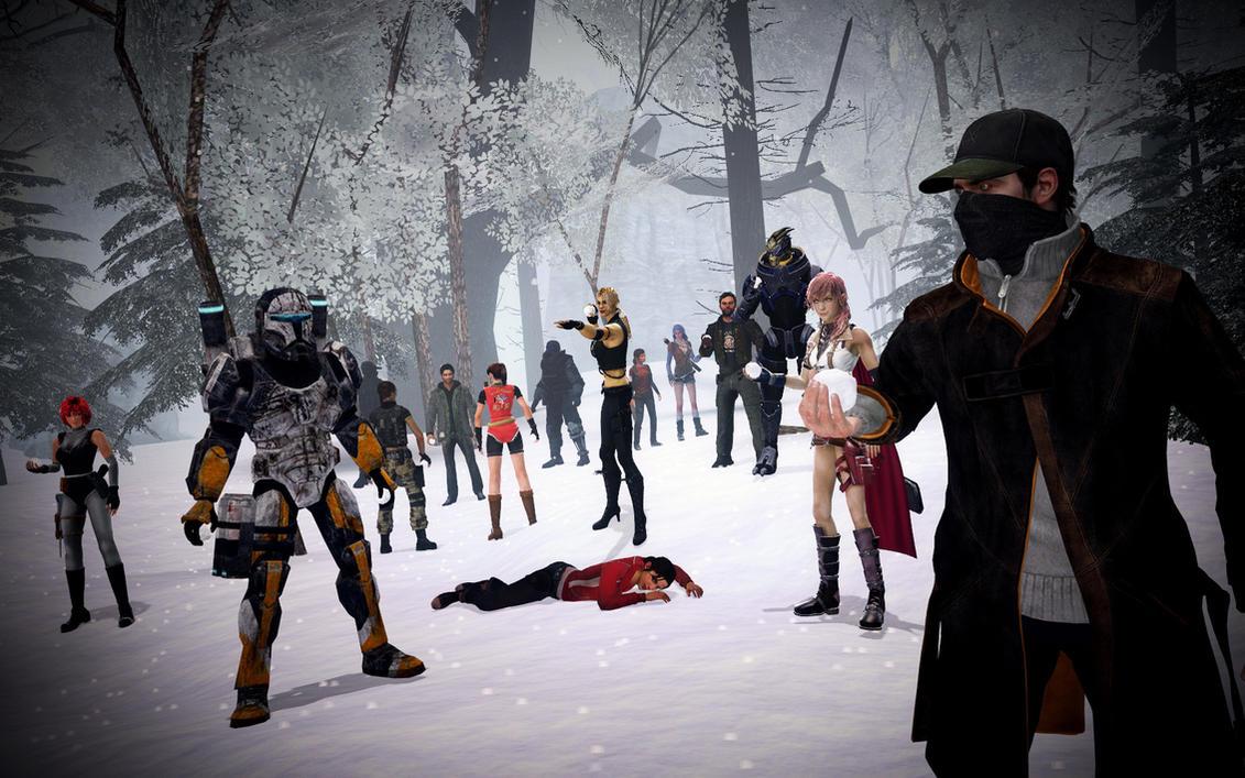 Prepare for a Snowball Fight! by benoski