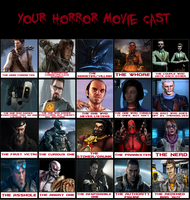 My Horror Movie Cast