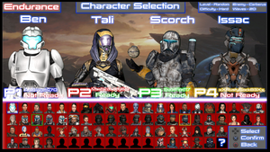 Alliance - Character Selection Screen