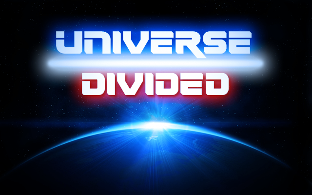 Universe Divided Title Card by benoski