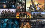 Gaming Groups Collage