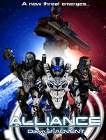 Alliance: Dawn of ADVENT Teaser Poster by Archangel470