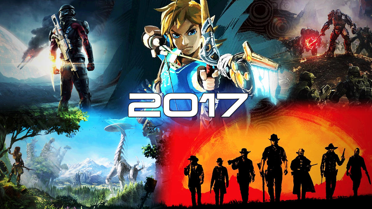 2017 Video Game Collage by Archangel470